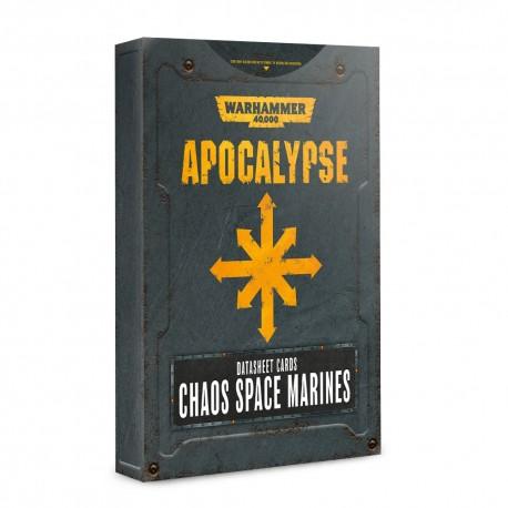 Apocalypse Datasheets: Chaos Space Marines (Inglés)