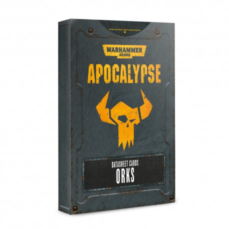 Apocalypse Datasheets: Orks (English)