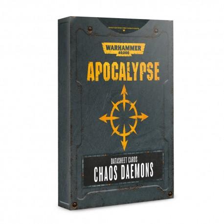 Apocalypse Datasheets: Chaos Daemons (Inglés)