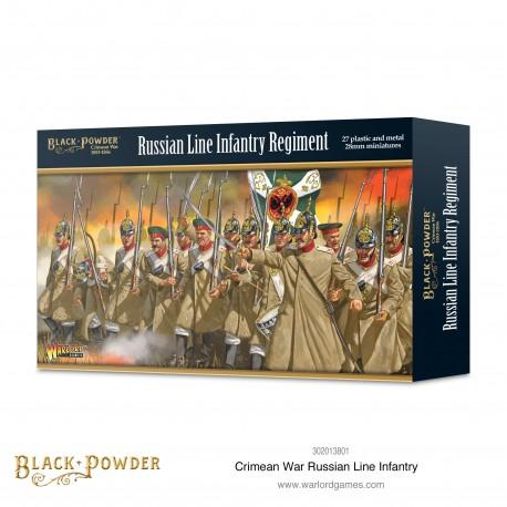 Crimean War Russian Line Infantry
