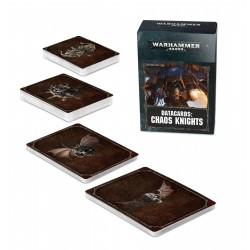 Datacards: Chaos Knights (Castellano)