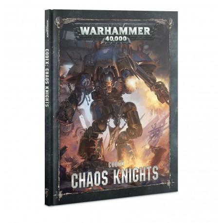 Codex: Chaos Knights (Spanish)