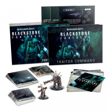 Black Stone Fortress: Traitor Command (Inglés)