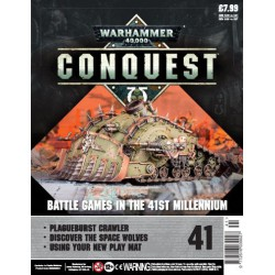 Warhammer 40000: Conquest - Fascículo 41 Plague Burst Crawler Parte 1