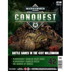 Warhammer 40000: Conquest - Fascículo 42 Plague Burst Crawler Parte 2