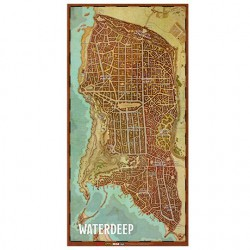Dungeons & Dragons: Mapa de la Ciudad de Waterdeep (Spanish)