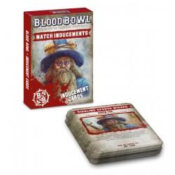 Blood Bowl: Inducements Cards (Inglés)