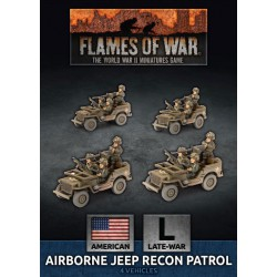 Airborne Jeep Recon Patrol (Plastic)