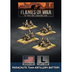 Parachute 75mm Artillery Battery (Plastic)