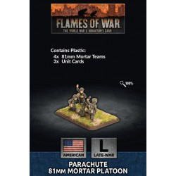 Parachute Mortar Platoon (Plastic)