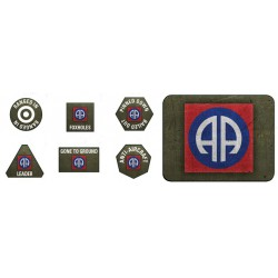 82nd Airborne Token & Objective Set