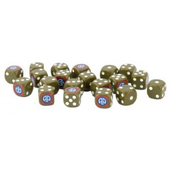 82nd Airborne Dice Set