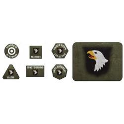 101st Airborne Token & Objective Set