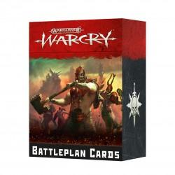 Warcry: Cartas de Plan de Batalla (Castellano)