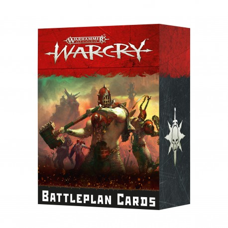 Warcry: Battleplan Cards (Inglés)