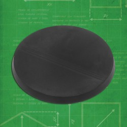 (3) Round Bases 60mm