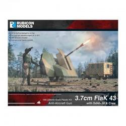 3.7cm FlaK 43 with SdAh 58