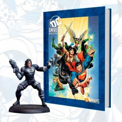 DC Universe Rulebook - Heroes Cover (Inglés) + Mini