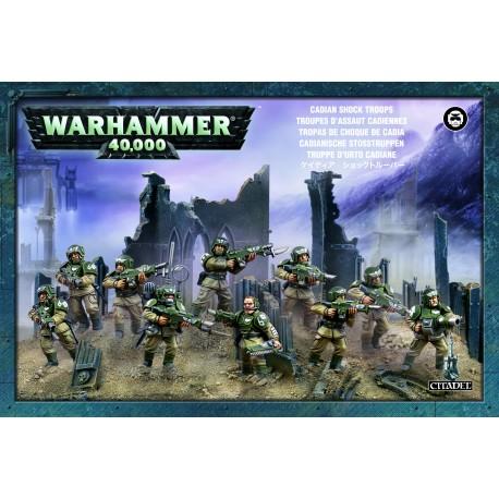 Astra Militarum Cadian Infantry Squad