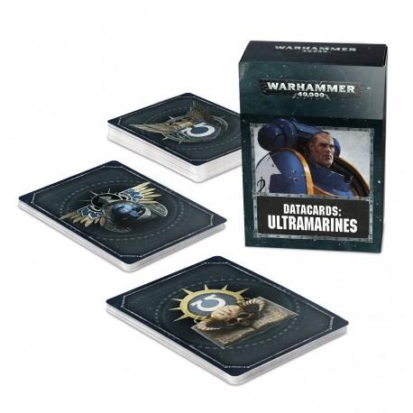 Datacards: Ultramarines (Inglés)