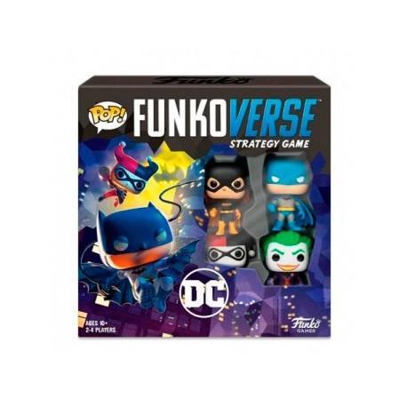 Funkoverse Strategy Game - DC Comics (4) (Castellano)