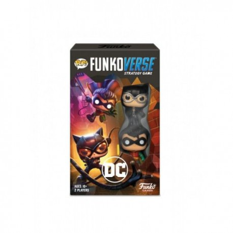 Funkoverse Strategy Game - DC Comics (2) (Castellano)