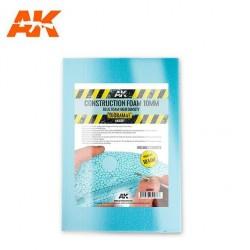 Construction Foam 10mm - Blue Foam 195mm X 295mm (2 Sheets)