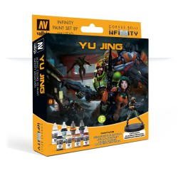 Model Color Set: Infinity Yu Jing + Exclusive Miniature
