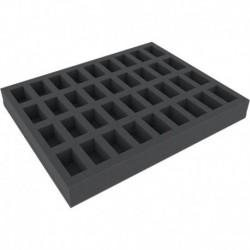 FS040BO 40 mm Figure Foam Tray with base - full-size