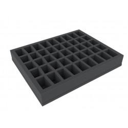 FS040C5BO 40 mm (1.6 Inch) slot foam with base - full-size