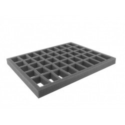 FS035C5BO 35 mm foam tray with 45 conical compartments