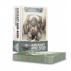 Aeronautica Imperialis: Aircrft & Aces: Ork Air Waaagh! Cards  (Inglés)