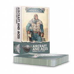 Aeronautica Imperialis: Aircraft And Aces: Imp. Navy Cards  (Inglés)