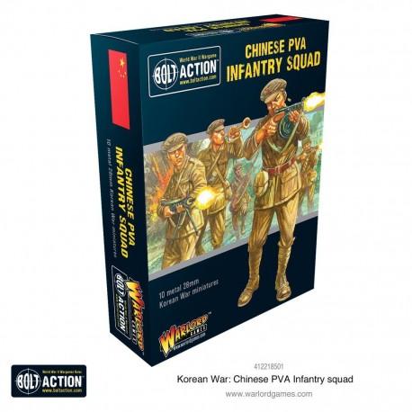 Korean War: Chinese PVA Infantry Squad