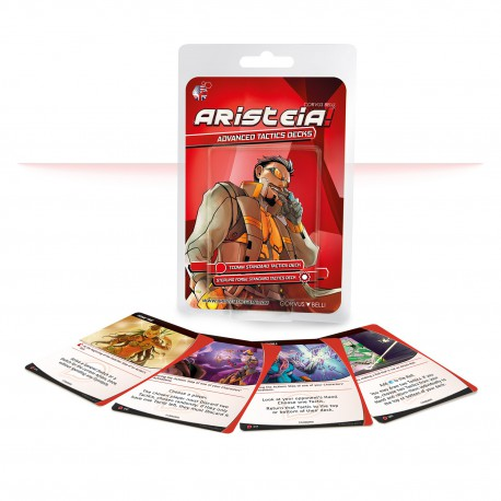 Aristeia Advanced Tactics Decks (Castellano)