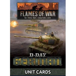 D-Day: German Unit Cards