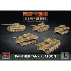 Panther Tank Platoon (Plastic)