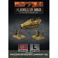 Armoured Panzergrenadier Company HQ (Plastic)