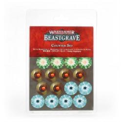 Warhammer Underworlds: Beastgrave Conjunto de Fichas