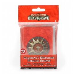 Warhammer Underworlds: Beastgrave – Grashrak's Despoilers Premium Sleeves