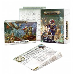 Warscroll Cards: Cities of Sigmar (Inglés)