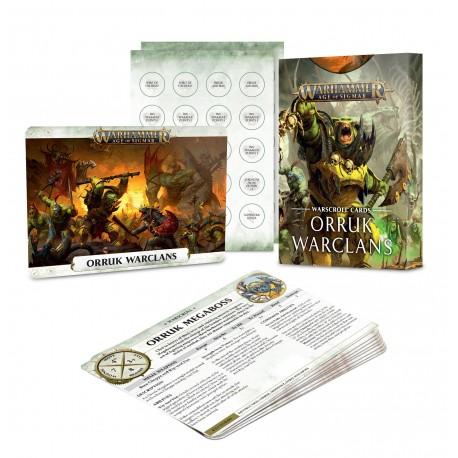 Warscroll Cards: Orruk Warclans (Inglés)