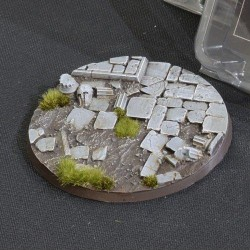 Temple Bases Round 100mm (x1)