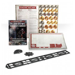 Blood Bowl Head Coach's Rules & Accessories Pack (Inglés)