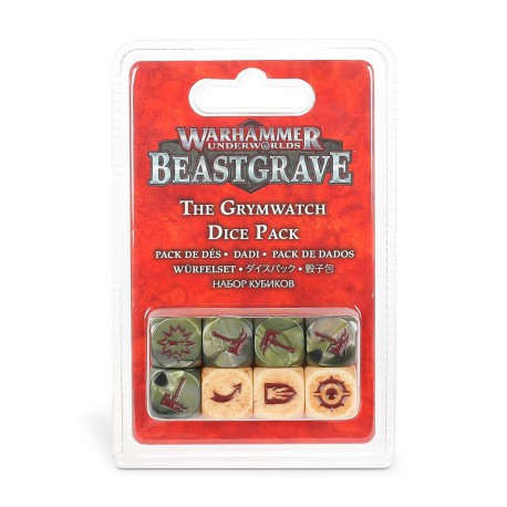 Warhammer Underworlds: Beastgrave – The Grymwatch Dice Pack