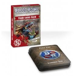 Blood Bowl: Lizardmen Team Card Pack (Inglés)
