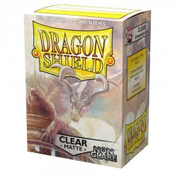 Dragon Shield Sleeves: Clear Matte Non Glare (100)