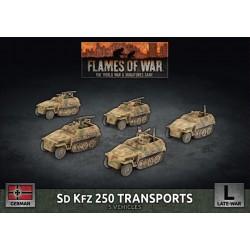 Sd Kfz 250 Transports (5 Plastic)