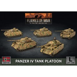 Panzer IV Tank Platoon (5 Plastic)