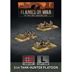 5cm Tank Hunter Platoon (3 Plastic)